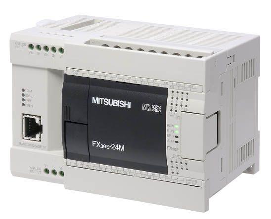 MITSUBISHI MELSEC FX3GE-24M//ES Programmable Controller